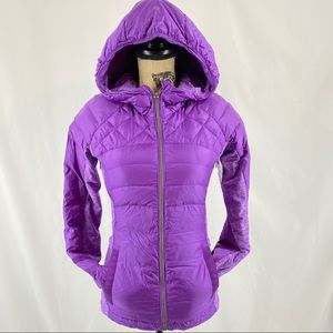 Lululemon Down For A Run Jacket Tender Violet
